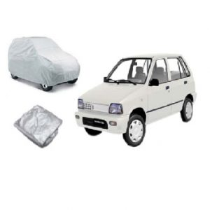 Suzuki Mahran Car Top Cover Silver Color Water and Dust Proof