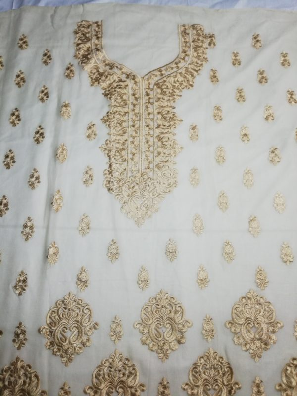 3 Piece Embroidery Lady Suit