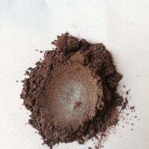 Epoxy Resin Dark Brown Metallic (Pearl) 15 grams POWDER Form (Imported)