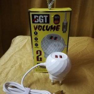 BGT VOLUME USB Charger Fast Charger Adapter Wall Charger